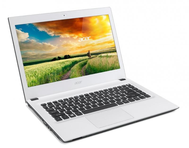 Acer Aspire E14 Cotton White Design 2015 Katalog VIP